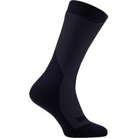 Sealskinz Trekking Thick Mid Socks Black/Anthracite
